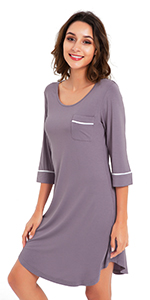 womens pajama dress