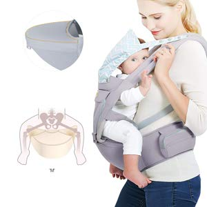 baby carrier gray