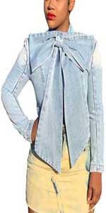 womens butterfly denim jacket
