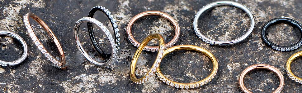 hinged Segment rings hoop