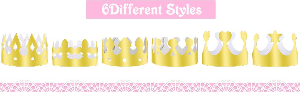 Golden King Crowns