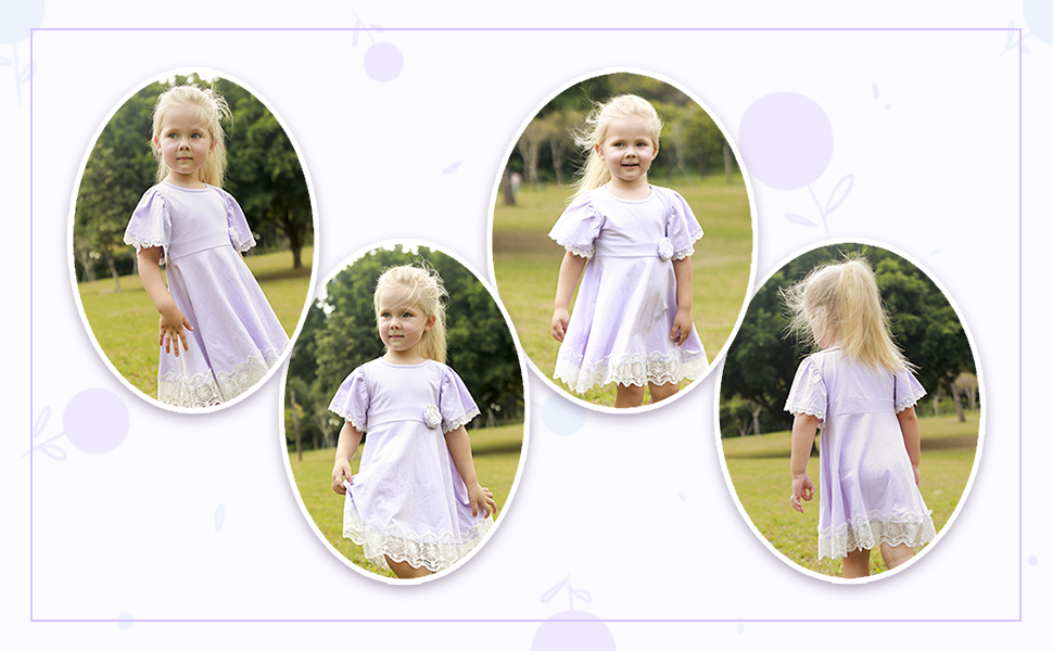 sweet girl party dress