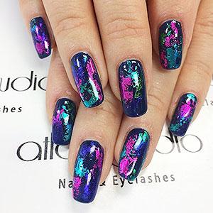 nail foil glue