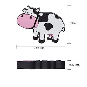 Cartoon Cow Zip Drive