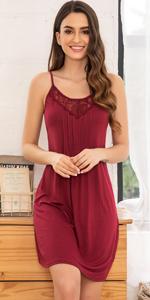 women chemise nightgown