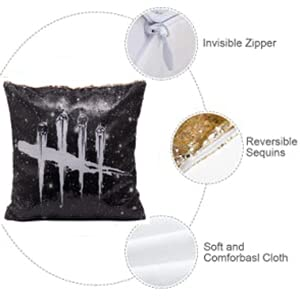Dead By Daylight Sequin Pillow Case