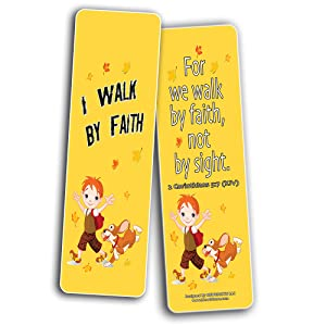 Children Christian Bookmarks - Favorite Bible Verses