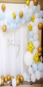 Macaron Blue balloons
