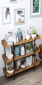 3 tier bookcase