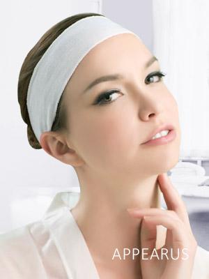 disposable band microfiber cotton sweat velcro esthetician turban headwraps supplies headband spa