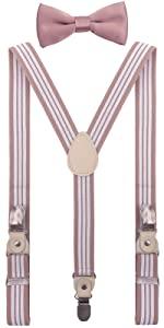 boys suspenders set
