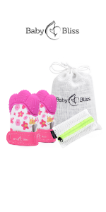 Teething Mittens for Girls