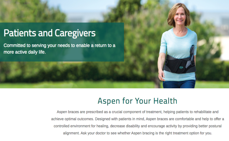 Aspen Health Patients Caregivers