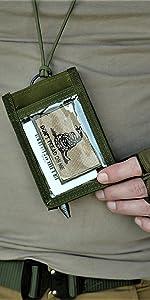 ID / Credential Holder [Bonus: Military Ink Pen]
