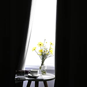 Triple Pass Coating Blackout Curtains