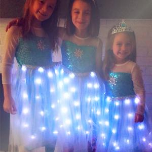 GIRLS ELSA DRESS