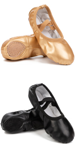 Ballet Flats Dance Shoes for Kids Girls Women