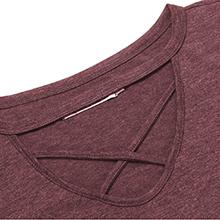 fuchsia t-shirt tops for women