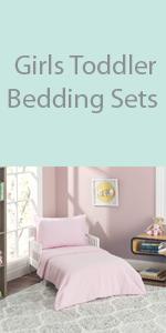 girls toddler bedding set