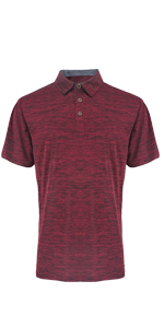 Red Golf Polo Shirt