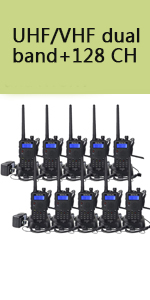 dual band two way radios