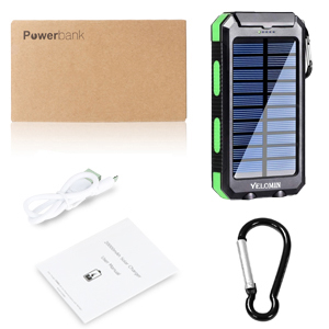 yelomin solar charger  20000mAh