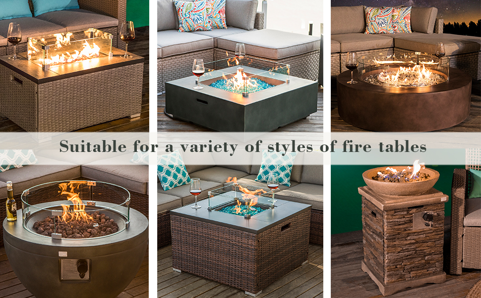 Fire Glass for Fire Tables