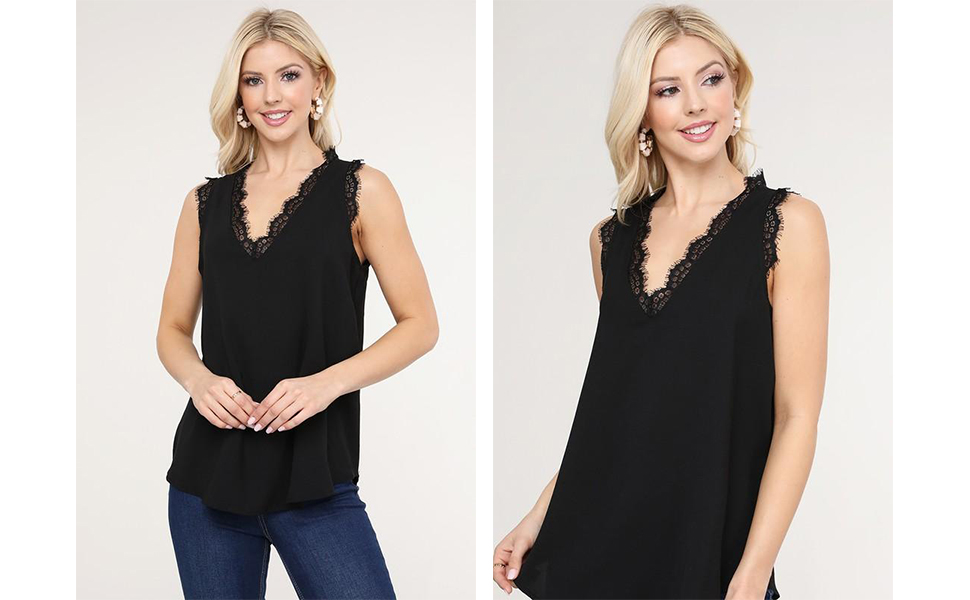 lace tank for women