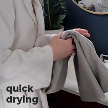 Quick Drying Bath Towels