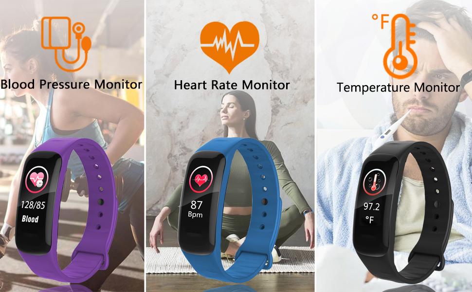 BP/HR/TEMP Monitor