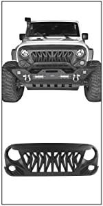 front shark grille grill