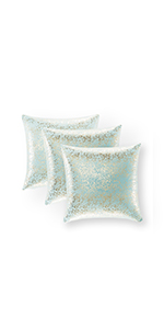 sequence pillow for boys large silver decorative pieces sofa covers silver glam pillow case 18x18in