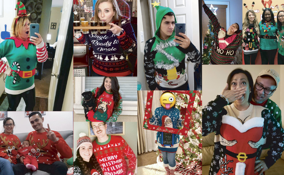 Ugly Christmas Sweater Jumper