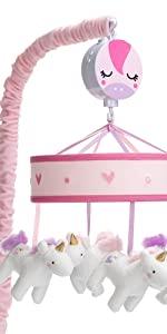 Magic Unicorn Musical Crib Mobile