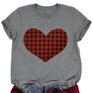 Plaid Love Shirts