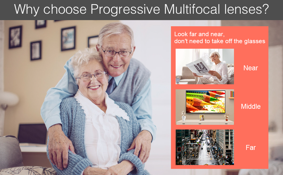 Why Choose Progressive Multifocal Lenses?