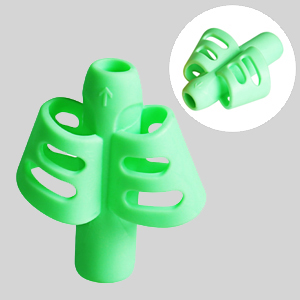 green pencil grips