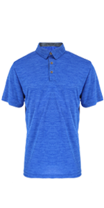 Royal Blue Golf Polo Shirt