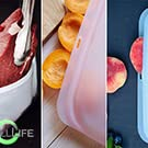 silicone storage iphone water proof leak submersible submerge kayak boating food prep thermos safety