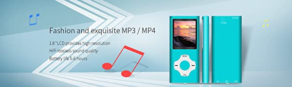 Portable mp3 player
