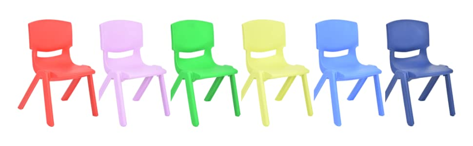 chairs colorful comfortable children learning