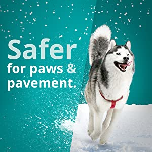 pet safe ice melt safe on paws safe on pavement