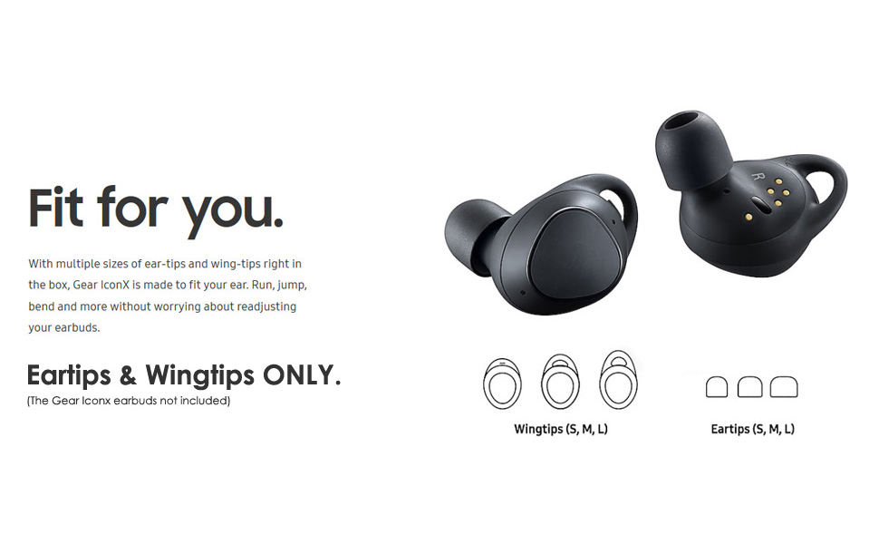 Gear Iconx Headphones Silicone EarTips