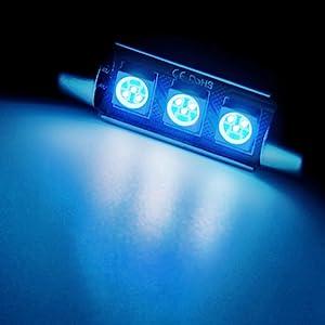 Blue Interior LED