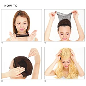 how to put on your wig