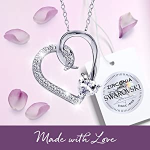 Made With Love Swarovski Zironia Seal
