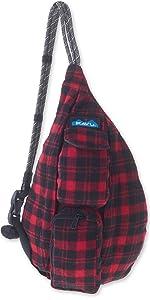 kavu plaid sling bag