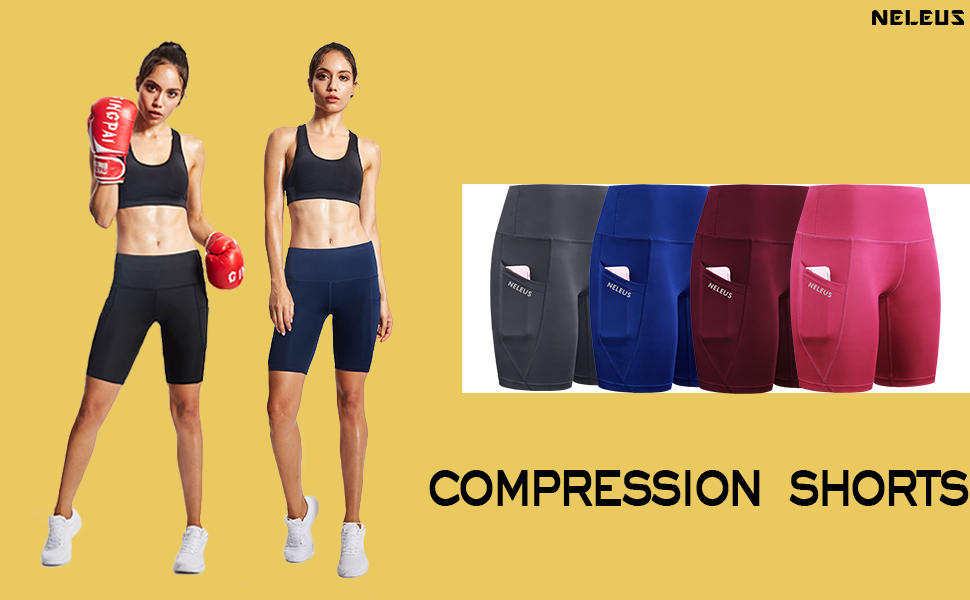 Workout/Fitness/Daily life compression shorts
