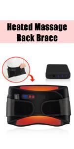 Heated Massage Back Brace