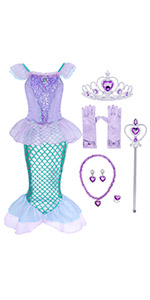 B07RXPBFLX mermaid costume outfits jewelry accessories